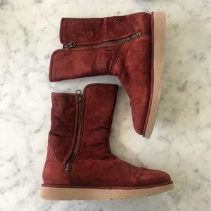 Maroon Ugg Boots